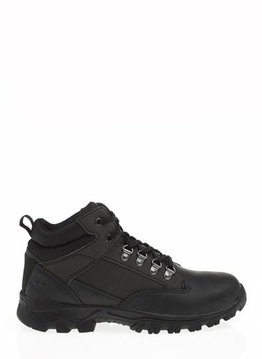 Timberland Timberland Keele Ridge Leather Hiker Leather Black Ayakkabı Siyah